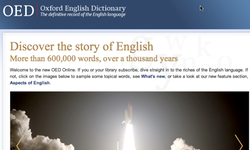 The definitive Oxford English Dictionary